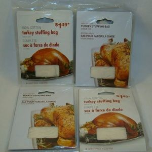 Other - Turkey Stuffing Bag Single Use Lot of 4 Brand New